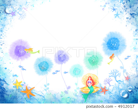 彩色独角兽简笔画