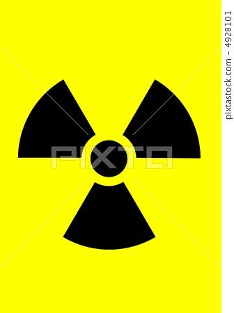 插图素材: 放射性 核电 核能