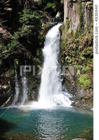 河津七泸 瀑布下的水潭 瀑布 首页 照片 风景_自然 河_池塘 瀑布 河津