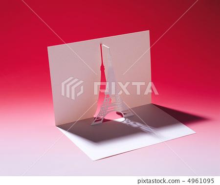 剪纸艺术 建筑 埃菲尔铁塔
