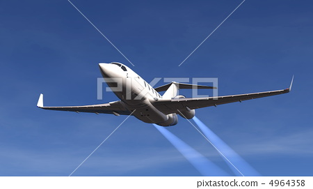 喷气式飞机 飞鸟 飞行