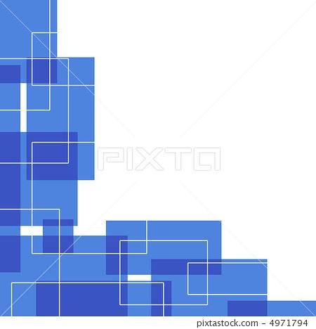 白色背景 蓝色 蓝色珊瑚
