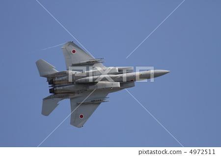 照片 机场秀 战斗机 喷气式飞机  pixta限定素材      机场秀 战斗机