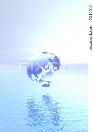 地球 图像 海平面