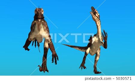恐龙 爬虫类的 爬行动物