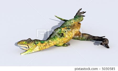 插图素材: 恐龙 爬行动物 爬虫类的