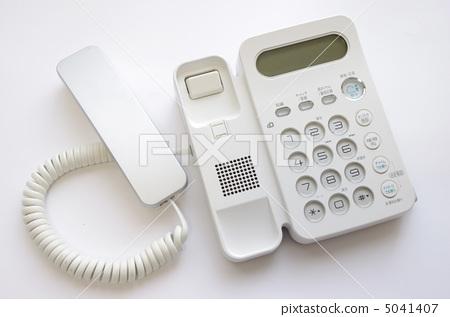 照片素材(图片): 座机电话 电话 接收者