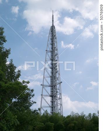 天线杆 无线电塔 电视塔