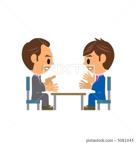 谈判 生意人 商务人士