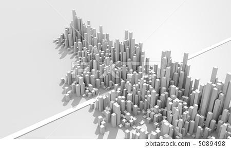 城市图片简笔画