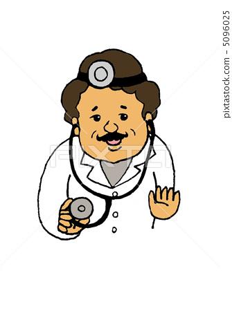 插图素材: 医生 博士 医师