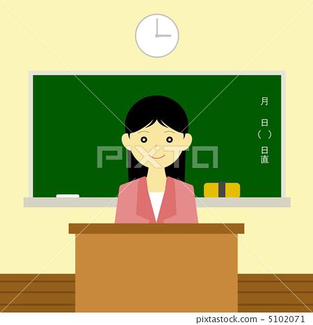 首页 插图 职业_上班族 老师 老师 老师 教师 女生  *pixta限定素材仅