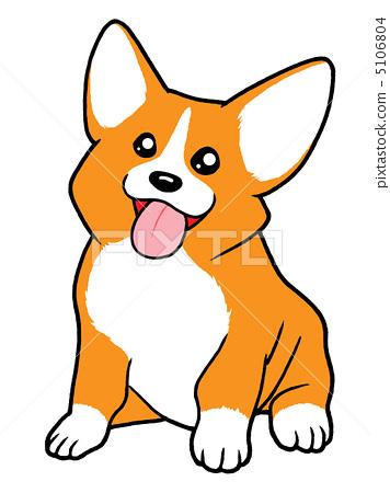 动物宝宝 威尔士矮脚狗 动物群