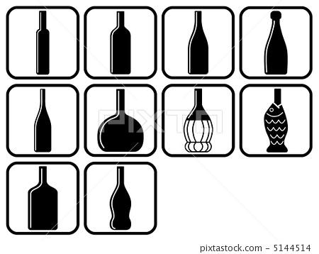 热水瓶 红酒 瓶子