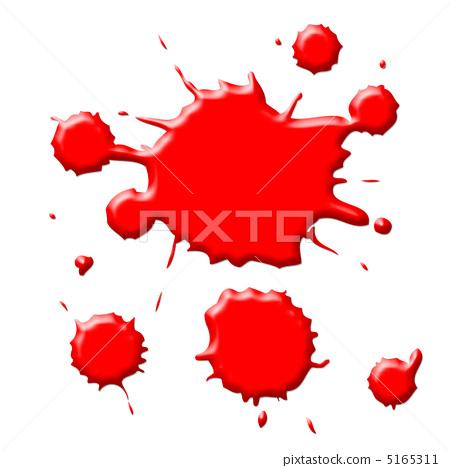 血迹手绘二维码