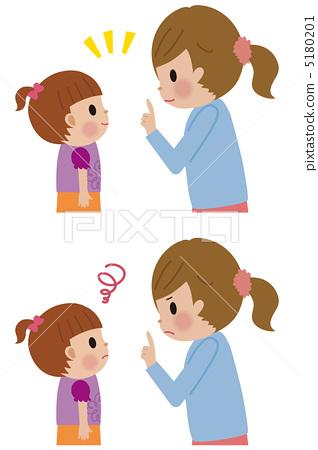 插图素材: 父母和小孩 亲子 妈妈