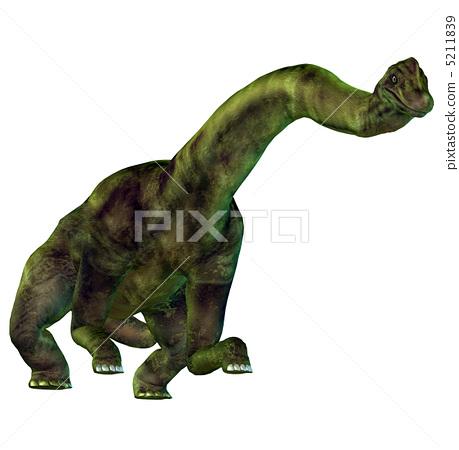 恐龙 草食性 残骸 5211839  恐龙 草食性 残骸  缩小 放大  图库插图 [52118