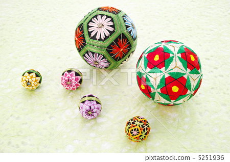 照片 运动_运动 球赛 手球 日本传统手球 手球 线球  *pixta限定素材