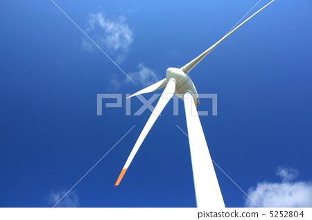风力涡轮机 风能发电机