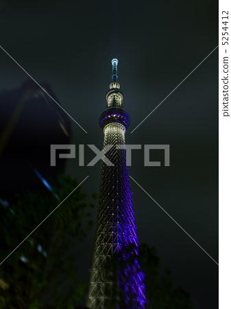 东京晴空塔 无线电塔 天线杆