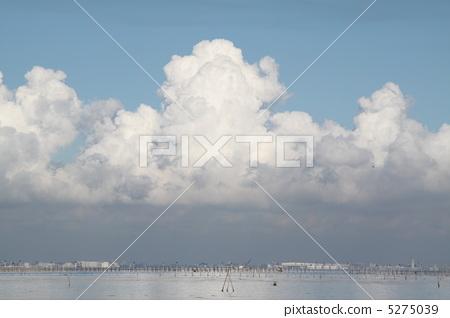 照片素材(图片): 雷云 积雨云 风景
