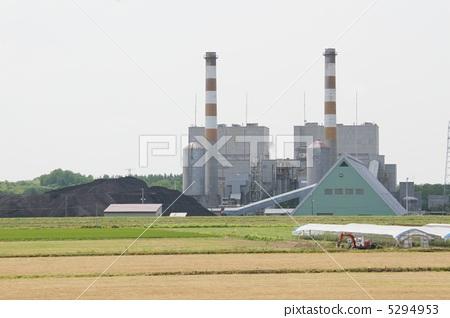 火力发电厂 发电厂 加热电源