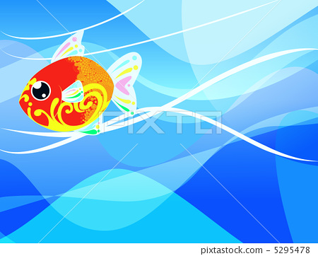 鱼 金鱼 计算机图形