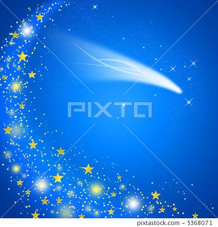 插图素材: 流星 彗星 星星