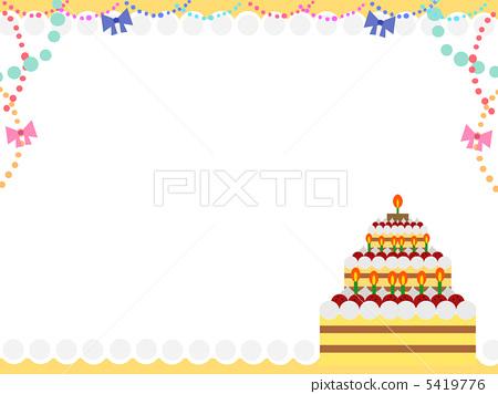 插图 业种_产业 制造业_工业 食物 甜点 甜品 糕点  *pixta限定素材仅