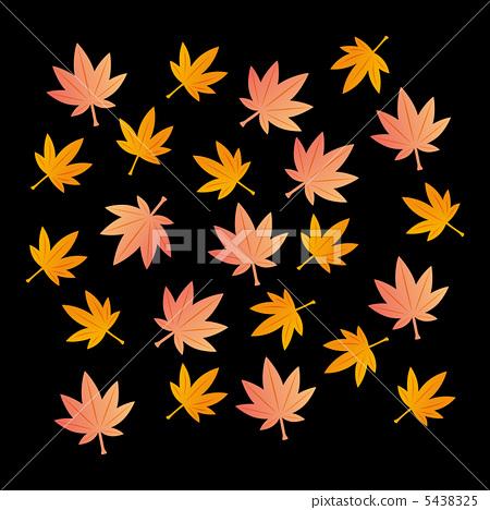 图库插图: 树叶 叶子 红叶