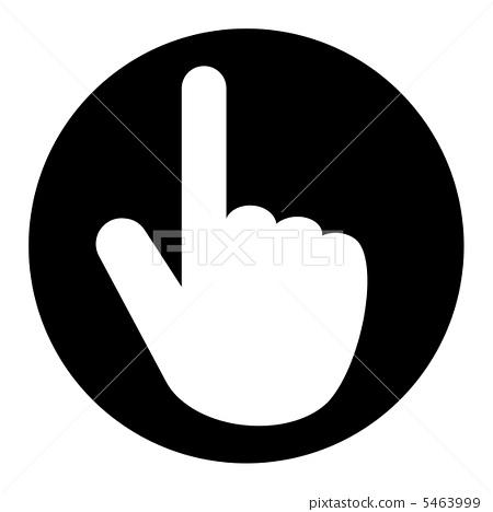 图标 手 手指