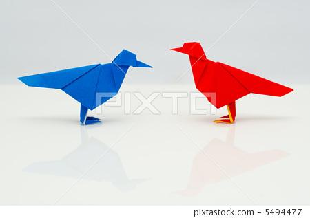 折纸の小鸟 5494477