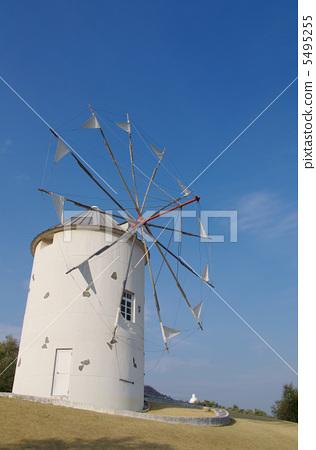 风力涡轮机 风车 公园