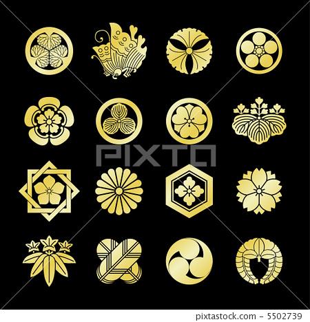 家族徽章 和风 日式风格