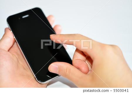 智能手机 操作 lcd屏幕
