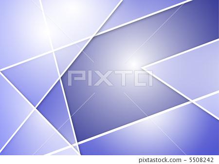 图库插图: 大腿上方 重叠 抽象