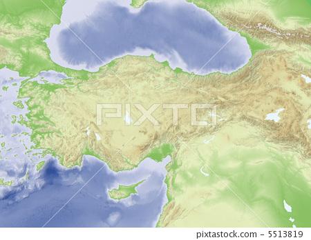 地图学 地图 中东