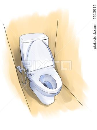 厕所 马桶座椅 漏水