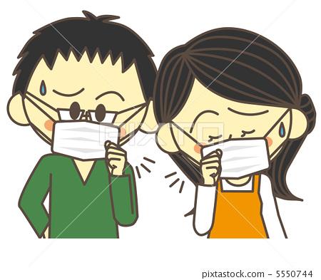 图库插图: 寒冷 感冒 咳嗽