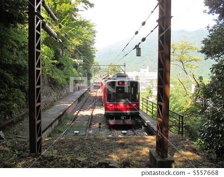 轨道 箱根登山铁道铁 扶手