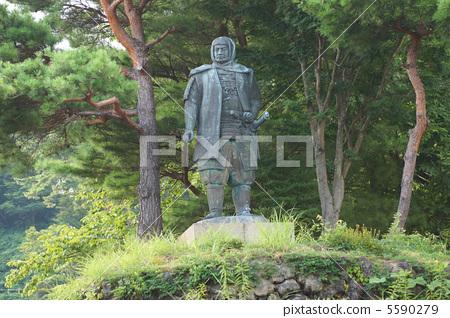 浪客剑心 铜像 首页 照片 日本风景 新泻 雕像(肖像) 浪客剑心 铜像