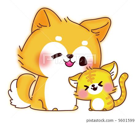 动物 动物宝宝 亲密朋友