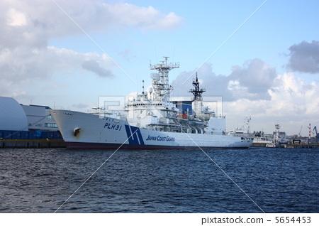 敷岛 巡逻船 划船