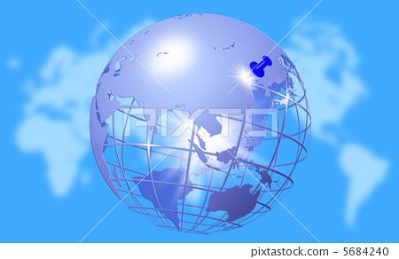 探索 地球 球体 恒星 太阳系_乐乐简笔画