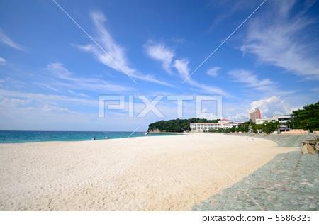 照片: 海滩 白滨海岸 白良滨