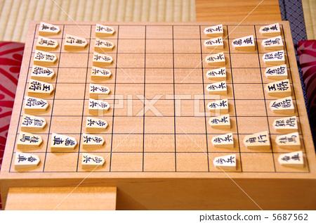 日本将棋棋子 马儿 棋盘图片