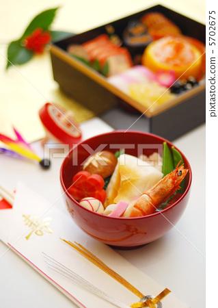 新年 杂煮 日本年糕汤