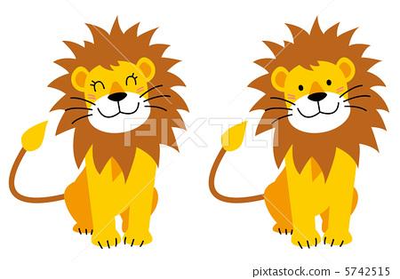 狮子 母狮 动物宝宝