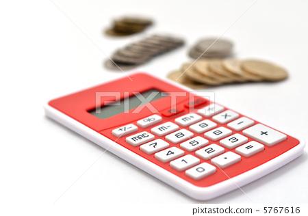 电子计算器 计算器 钱