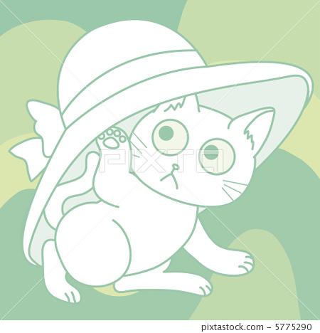插图素材: 矢量 毛孩 猫